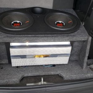Latest subs with DMX powering them.